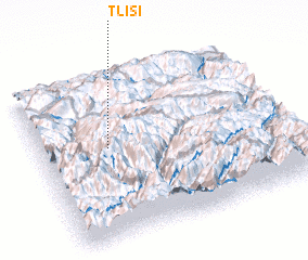 3d view of Tlisi