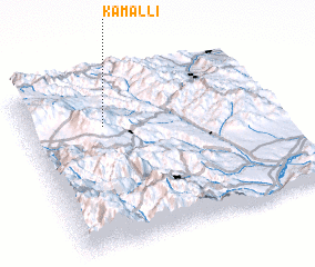 3d view of Kamallı