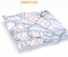 3d view of Kabagtepe