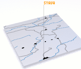 3d view of Syava