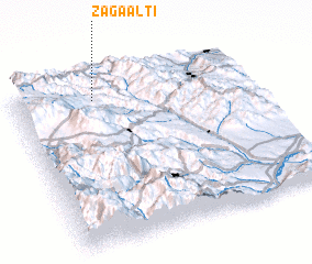 3d view of Zağaaltı