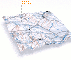 3d view of Qorçu