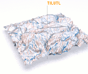 3d view of Tilutl\