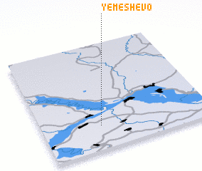 3d view of Yemeshevo