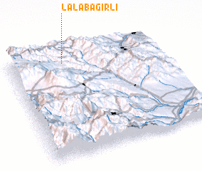 3d view of Lǝlǝbağırlı