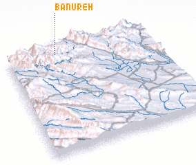 3d view of Bānūreh