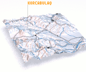 3d view of Korcabulaq