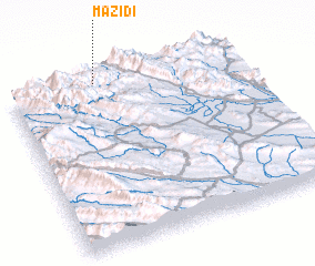 3d view of Mazīdī
