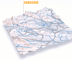 3d view of Shamshīr