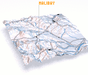 3d view of Malıbǝy