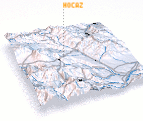 3d view of Hoçaz