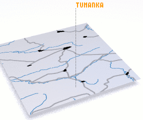 3d view of Tumanka