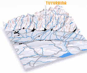 3d view of Tüyürbinǝ