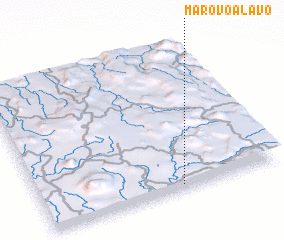 3d view of Marovoalavo