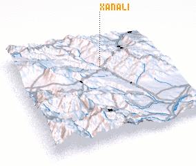 3d view of Xanalı