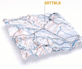 3d view of Göytala