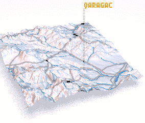 3d view of Qarağac