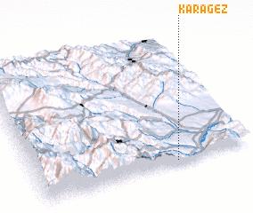 3d view of Karagëz