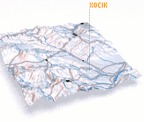 3d view of Xocik
