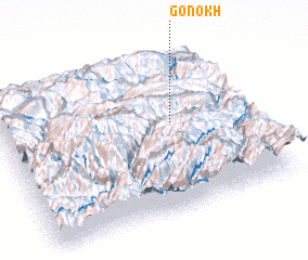 3d view of Gonokh