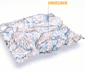 3d view of Khunzakh