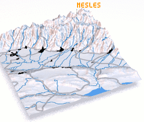 3d view of Meşleş