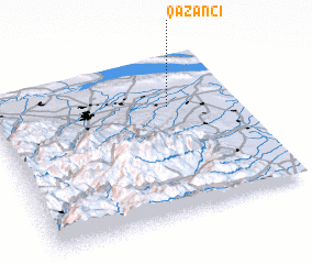 3d view of Qazançı