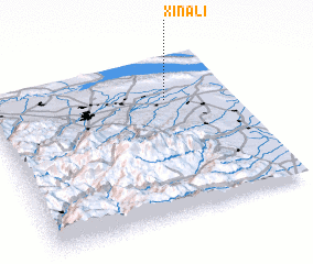3d view of Xınalı