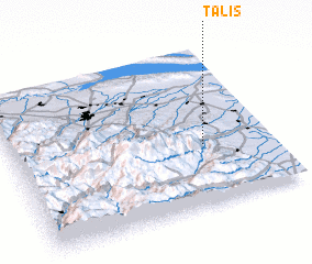 3d view of Talış