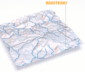 3d view of Mokotrohy