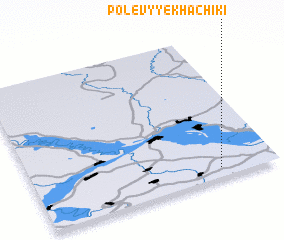 3d view of Polevyye Khachiki