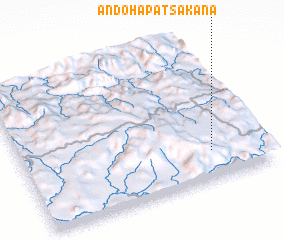 3d view of Andohapatsakana