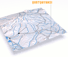 3d view of Qūrt Qayah Sī