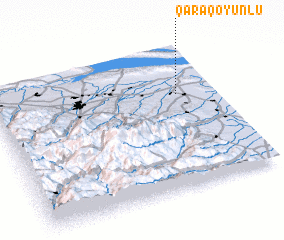 3d view of Qaraqoyunlu