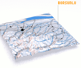 3d view of Borsunlu