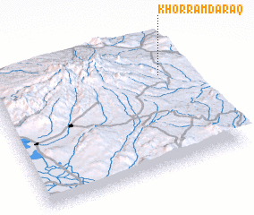 3d view of Khorram Daraq