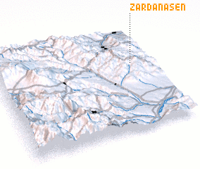 3d view of Zǝrdanaşen