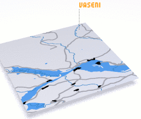 3d view of Vaseni