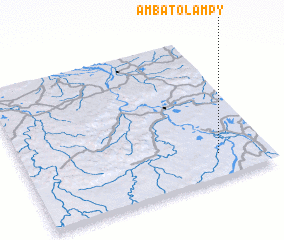 3d view of Ambatolampy