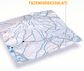 3d view of Tāzeh Kand-e Şowlatī