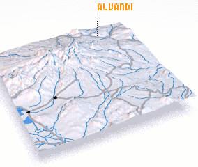 3d view of Alvandī