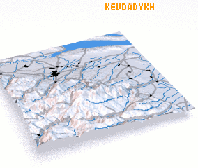 3d view of Kevdadykh