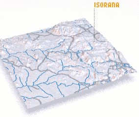 3d view of Isorana