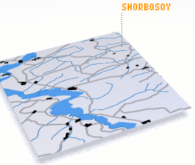 3d view of Shor-Bosoy