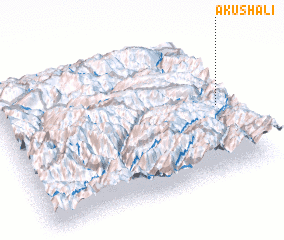 3d view of Akushali