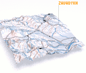 3d view of Zavadykh