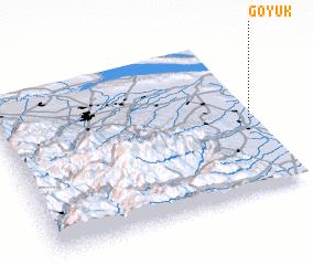 3d view of Göyük
