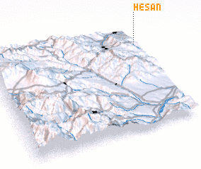 3d view of Heşan
