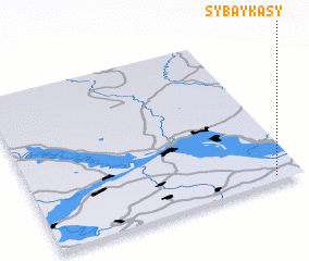 3d view of Sybaykasy