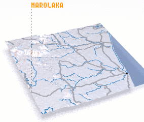 3d view of Marolaka